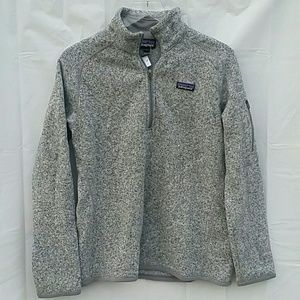 Patagonia Better Sweater 1/4 Zip Fleece Size Large